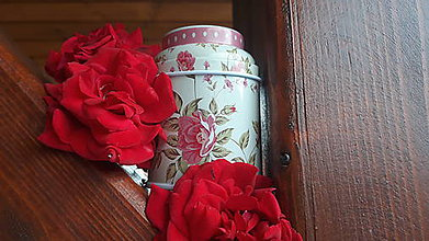 Svietidlá a sviečky - Sviečka zo sójového vosku - kvet  (Ružová) - 10834126_