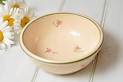 Nádoby - Romantická miska na polievku - 10834149_
