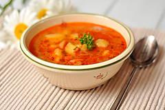 Nádoby - Romantická miska na polievku - 10834150_