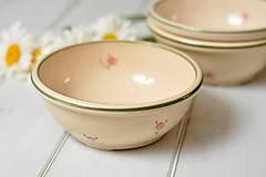 Nádoby - Romantická miska na polievku - 10834157_