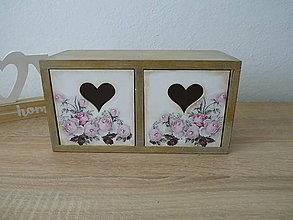 Krabičky - Komodka šuflíčková - 10833945_