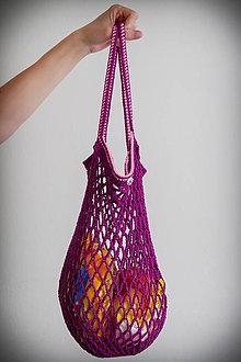 Nákupné tašky - Sieťová taška matná - 10834248_