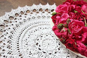 Úžitkový textil - Háčkovaná dečka Ciri - 10834276_