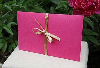 Papiernictvo - Darčekové obálky k maľovanému hodvábu 26 x 16 cm - 10834424_