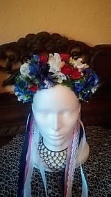 Ozdoby do vlasov - Čelenka do vlasov modrý deň - 10833192_