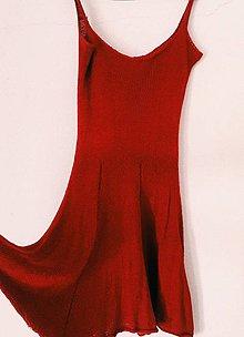 Šaty - Pletené šaty z alpacy a hodvábu - 10833726_