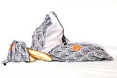 Nákupné tašky - Sáčky z lásky (7 ks) - 10833201_