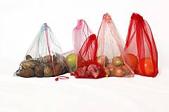 Nákupné tašky - Sáčky z lásky (7ks) - 10833250_