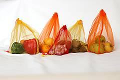 Nákupné tašky - Sáčky z lásky (5 ks) - 10833264_