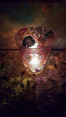 Dekorácie - Mandalkovo kvetinová váza - 10833153_