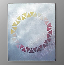 Obrazy - obraz kruh 60x50cm - 10834711_