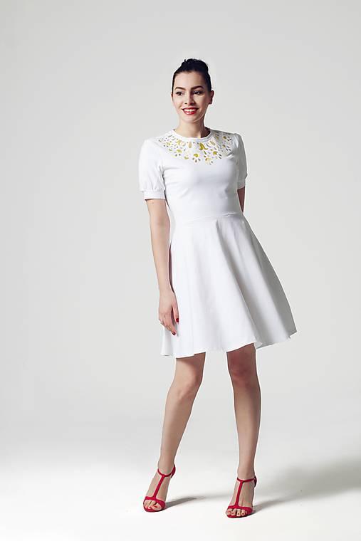 Šaty biele Jewel