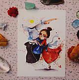 Grafika - Sekáčové Dievča - 10837328_