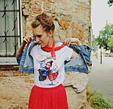 Tričká - Sekáčové dievča/ typ Stedman organic - 10837358_