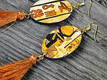 """Náušnice - Náušnice """"Egypt"""" - 10837067_"""