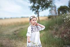 Detské doplnky - Kvetinový venček pre malé slečny - 10836862_