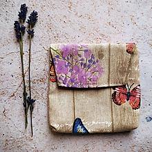 Taštičky - Taštička motýliková - 10835249_
