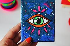 Dekorácie - Oko v galaxii - mini obrázok - 10836746_