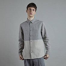 Oblečenie - ľanová košeľa JORDAN - 10837621_