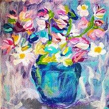 Obrazy - Kytica kvetov - 10836763_