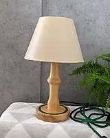 Svietidlá a sviečky - Drevená lampa Fosfor - 10836712_