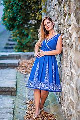 - modré šaty - 10835206_