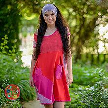 Šaty - Origo šaty puff. mixoš - limit - 10836914_