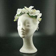 Ozdoby do vlasov - Wedding Orchidea ... svatební čelenka - 10838803_
