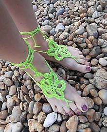 Iné doplnky - Barefoot ozdoba na nohu - 10839992_