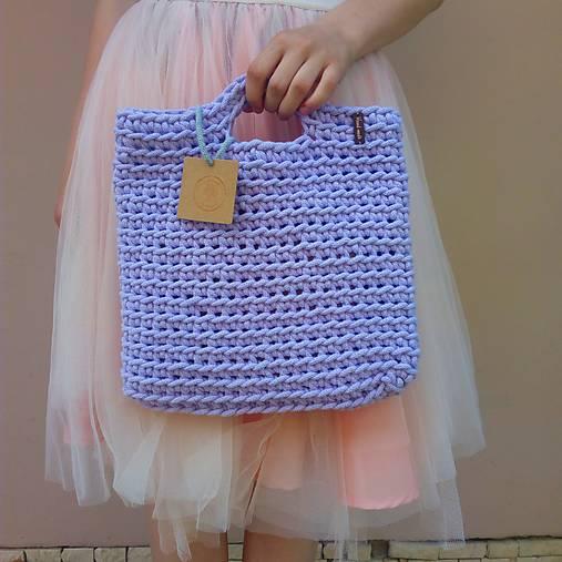 LOVE bag - fialová
