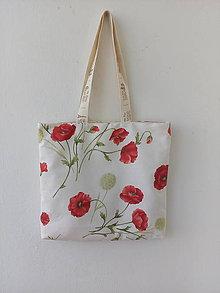 Nákupné tašky - Nákupná taška Vlčie maky 2 - 10839694_
