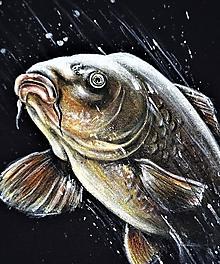 Oblečenie - kapor ... tričko pre rybára - 10839590_