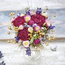 Dekorácie - Malá milá kytička - 10840040_