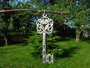 Náhrdelníky - kľúčik...od pokladu,,z rozprávky,, - 10840525_