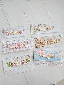Papiernictvo - Svadobné obálky - 10838883_