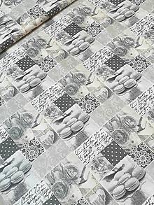 Textil - Bavlna s makronkami - 10839804_