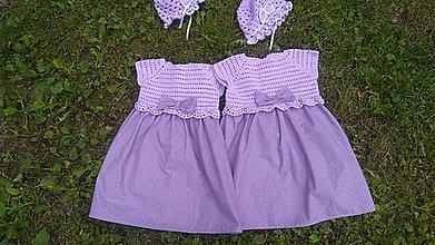 Detské oblečenie - Šaty - 10839004_