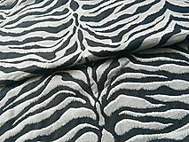 Textil - Yaro Tiger Ultra Navy Grey Alpaca - 10838385_
