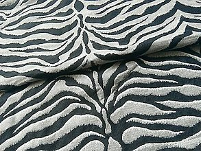 Textil - Yaro Tiger Ultra Navy Grey Alpaca - 10838385_