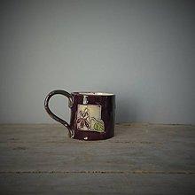 Nádoby - fialková šálka II - 10839777_