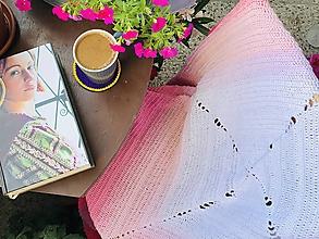 Úžitkový textil - Dúhodeka ružová - 10838892_