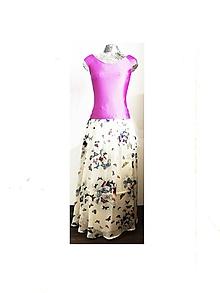 Šaty - Motýľové šaty - 10839108_