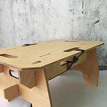 Nábytok - Skladací stolík - 10839074_