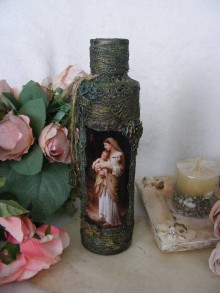 Nádoby - Vintage fľaša ... - 10839488_