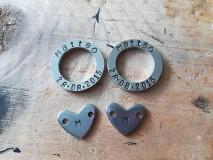 Iné šperky - Komponenty na želanie z chirurgickej ocele  - 10839557_