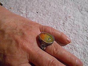 Prstene - Cínovaný prsteň - 10843006_