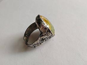Prstene - Cínovaný prsteň - 10843007_