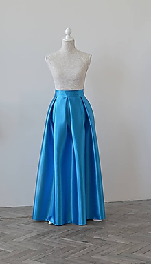Sukne - Maxi sukňa s vreckami - 10841914_