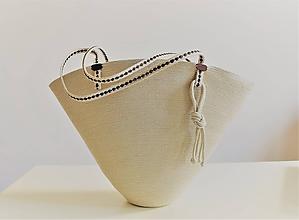 Kabelky - Letní kabelka ve lnové 2012 - 10841706_