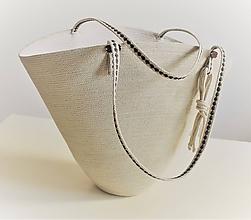 Kabelky - Letní kabelka ve lnové 2012 - 10841710_